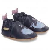 Poppy Whale Crib Shoe