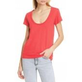 U-Neck Cotton T-Shirt