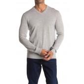 Riland Wool Blend V-Neck Sweater