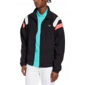 Stripe Nylon Tennis Jacket