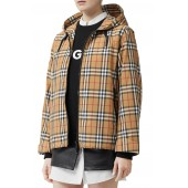 Winchester Vintage Check Hooded Rain Jacket