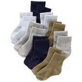 Crew Socks 8-Pack for Toddler & Baby