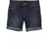 Denim Midi Shorts for Girls