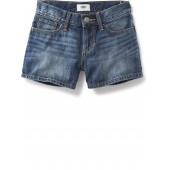 Denim Short Shorts for Girls