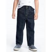 Dark-Wash Skinny Jeans for Toddler Boys