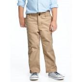 Twill Uniform Khakis for Toddler Boys