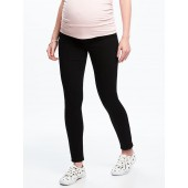 Maternity Never-Fade Premium Full-Panel Rockstar Jeans