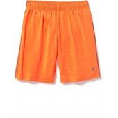 Space-Dye Jersey Performance Shorts for Boys
