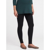 Maternity Full-Panel Heavy-Knit Leggings
