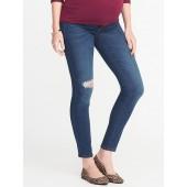 Maternity Side-Panel Rockstar Jeans