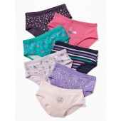 Printed Underwear 7-Pack for Toddler Girls