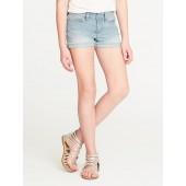 Denim Cut-Off Shorts for Girls