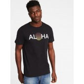 Soft-Washed Hawaii Graphic Tee for Men