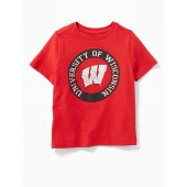College-Team Graphic Tee for Toddler Boys