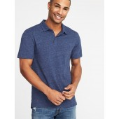 Soft-Washed Jersey Polo for Men