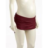 Maternity Side-Tie Swim Skirt
