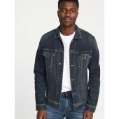 Built-In Flex Denim Jacket for Men