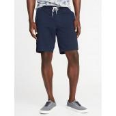 Built-In Flex Drawstring Jogger Shorts for Men - 9-inch inseam