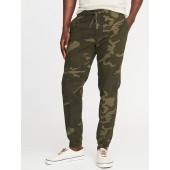 Linen-Blend Joggers for Men