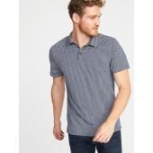 Regular-Fit Soft-Washed Polo for Men