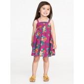 Floral-Print Sundress for Toddler Girls