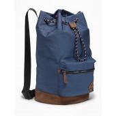 Canvas Cylinder Duffel Bag for Men