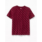 Softest Crew-Neck Printed Tee for Boys