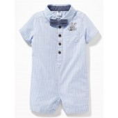 Oxford One-Piece & Bow-Tie Gift Set for Baby