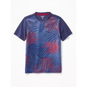 Go-Dry Palm-Print Performance Tee for