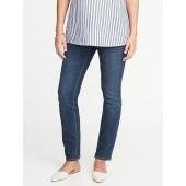 Maternity Side-Panel Original Straight Jeans