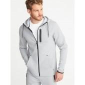 Dynamic Fleece 4-Way-Stretch Zip Hoodie for Men