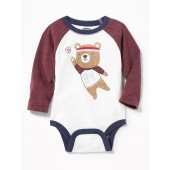 Graphic Raglan Bodysuit for Baby