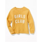 Relaxed Graphic Sweatshirt for Girls