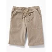 Built-In Flex Drawstring Jogger Shorts for Boys