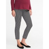 Maternity Fitted Full-Panel Pixie Pants