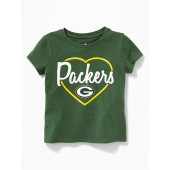NFL&#174 Team Heart Graphic Tee for Toddler Girls