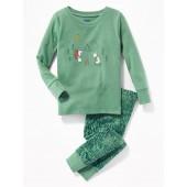Llama-Graphic Sleep Set for Toddler & Baby
