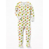 Taco Print Footed Sleeper for Toddler & Baby