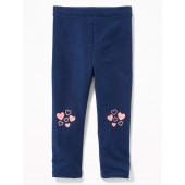 French-Terry Leggings for Toddler Girls