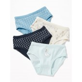Graphic Underwear 4-Pack for Toddler Girls