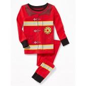 Firefighter Sleep Set for Toddler & Baby