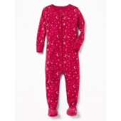 Footed Sleeper for Toddler Girls & Baby