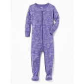 Constellation Footed Sleeper for Toddler & Baby