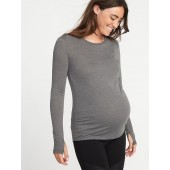 Maternity Semi-Fitted Performance Tee