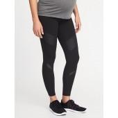 Maternity High-Rise Full-Panel 7/8-Length Street Leggings