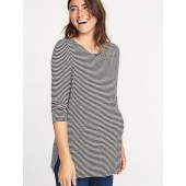 Maternity Long & Lean Striped Top