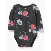 Printed Crew-Neck Bodysuit for Baby