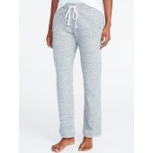 French Terry Straight-Leg Sweatpants for Women