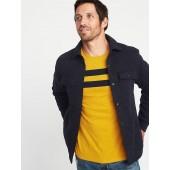 Sweater-Fleece Shirt Jacket for Men