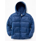 Frost-Free Hooded Puffer Jacket for Boys